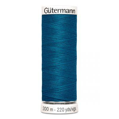 Fil à coudre bleu Gütermann 483