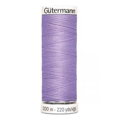 Fil à coudre mauve Gütermann 158