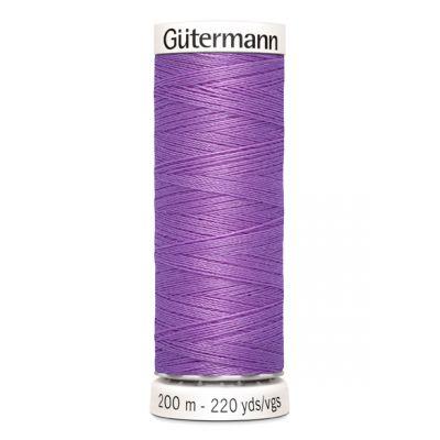 Purple sewing thread Gütermann 291
