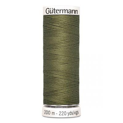 Fil à coudre vert Gütermann 432