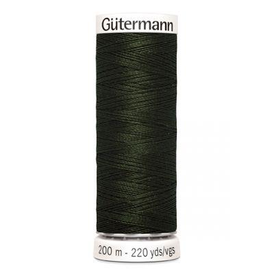 Fil à coudre vert Gütermann 304