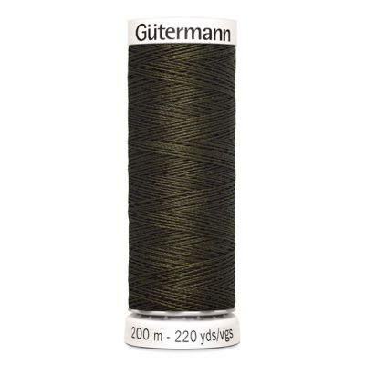 Green sewing thread Gütermann 531