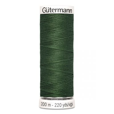 Fil à coudre vert Gütermann 561