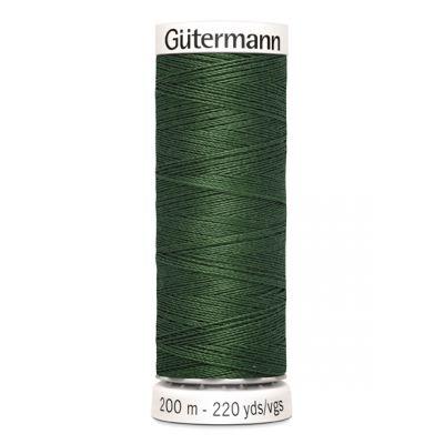 Green sewing thread Gütermann 561