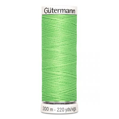 Fil à coudre vert Gütermann 153