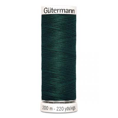 Fil à coudre vert Gütermann 18