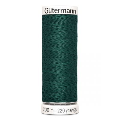 Green sewing thread Gütermann 869