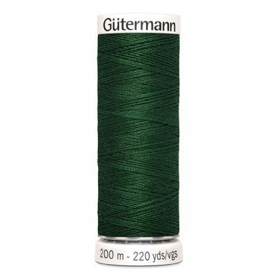 Fil à coudre vert Gütermann 456