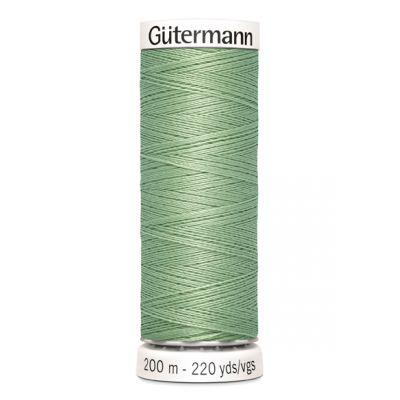 Fil à coudre vert Gütermann 914