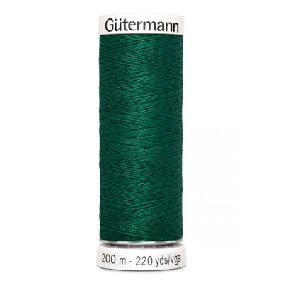 Fil à coudre vert Gütermann 403
