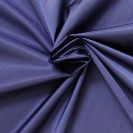 Tissu imperméable satiné en nylon bleu