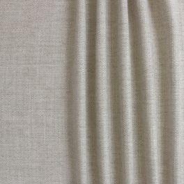 Tissu d'ameublement aspect lin beige naturel