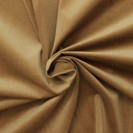 Tissu en velours côtelé  brun tabac