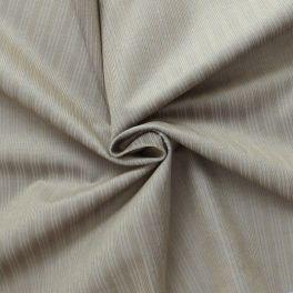 Tissu en velours côtelé chiné bleu et beige