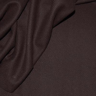 Tissu en laine brun