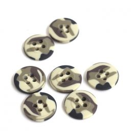 Bouton camouflage 20mm