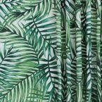 dralon buitenstof bedrukt met groene bladen