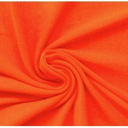 Bord côte uni orange fluo