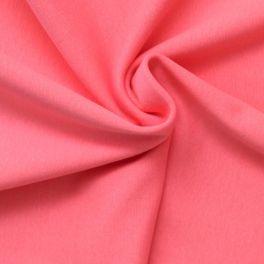 Bord côte uni rose bonbon