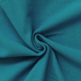 Bord côte uni turquoise