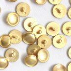 Bouton vintage en aspect métal doré 15mm