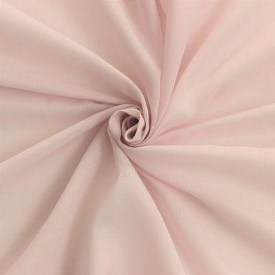voile de coton polyester rose p le. Black Bedroom Furniture Sets. Home Design Ideas
