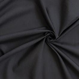 Coton et polyester gris anthracite