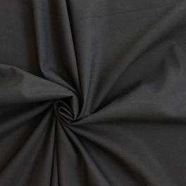 Voile en viscose et polyester irisé noir