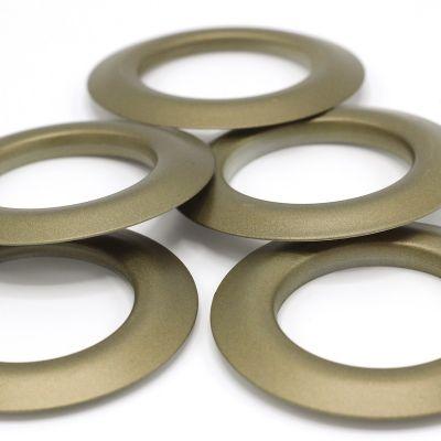 Oeillets à clipser bronze mat