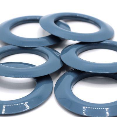 Oeillets à clipser bleu pastel