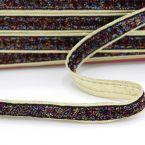 ruban guirlande multicolore