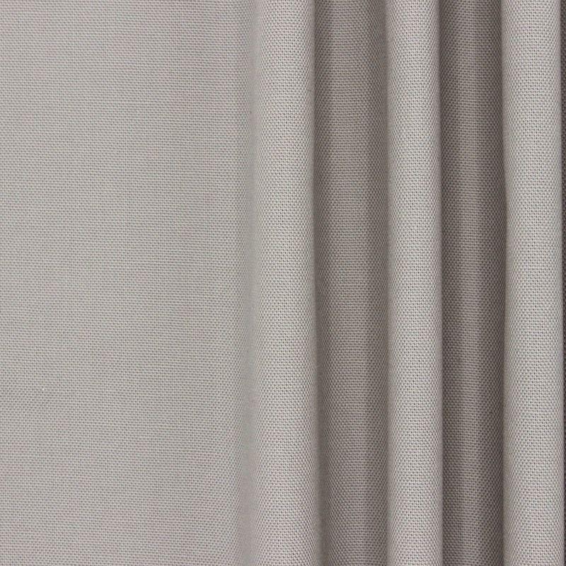 Tissu en coton uni gris souris