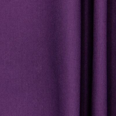 Tissu en coton uni mauve