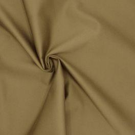 Tissu satin de coton lourd kaki