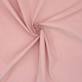 Velours de coton milleraies rose
