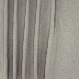 Tissu d'ameublement en lin uni gris ciel