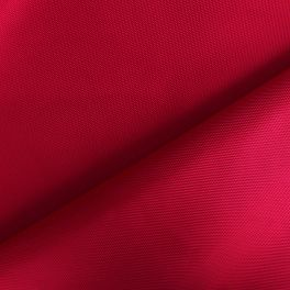 Toile polyester imperméable rouge