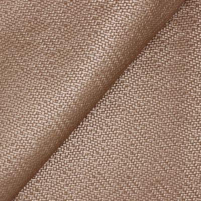 Simili cuir à motif tressé aspect métallisé rose poudré