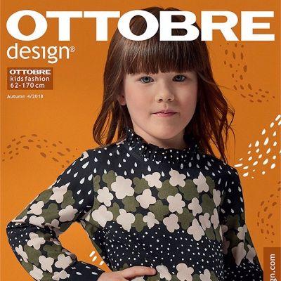 Sewing magazine Ottobre design Kids-  Autumn 4/2016