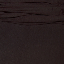 Bruine jersey stof