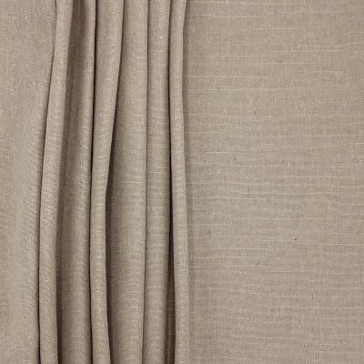 tissu d 39 ameublement grande largeur en polyester et lin couleur lficelle. Black Bedroom Furniture Sets. Home Design Ideas