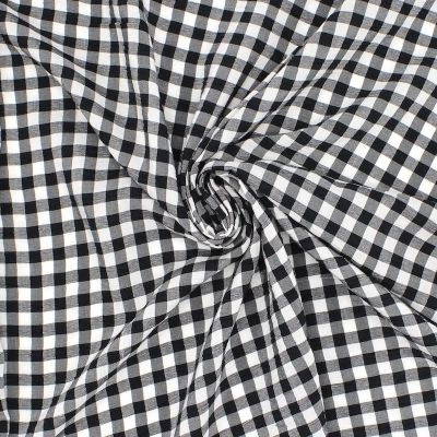 Vichy 100% polyester fabric