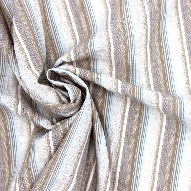 tissu en coton et elasthoane rayures. Black Bedroom Furniture Sets. Home Design Ideas