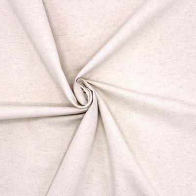 Toile simple en lin et coton beige