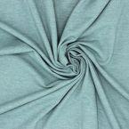Tissu jersey chiné vert sauge