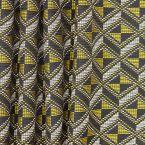 Tissu d'ameublement à motifs géométriques