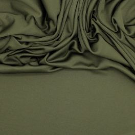 Doublure jersey 100% polyester kaki