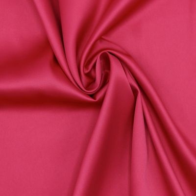 Satin extensible fushia