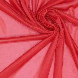 Doublure jersey 100% polyester rouge
