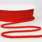 Red knitted rope